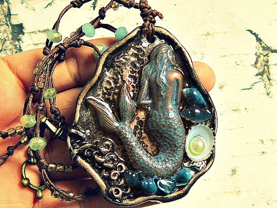 Mermaid Themed Jewelry ~ Salvina's Treasures of Malta ~ For Beautiful Souls