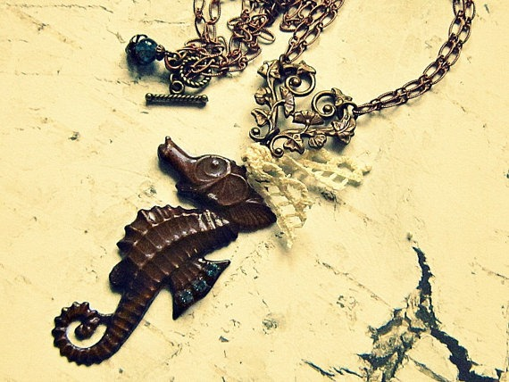 Seahorse Themed Jewelry ~ Salvina's Treasures of Malta ~ For Beautiful Souls