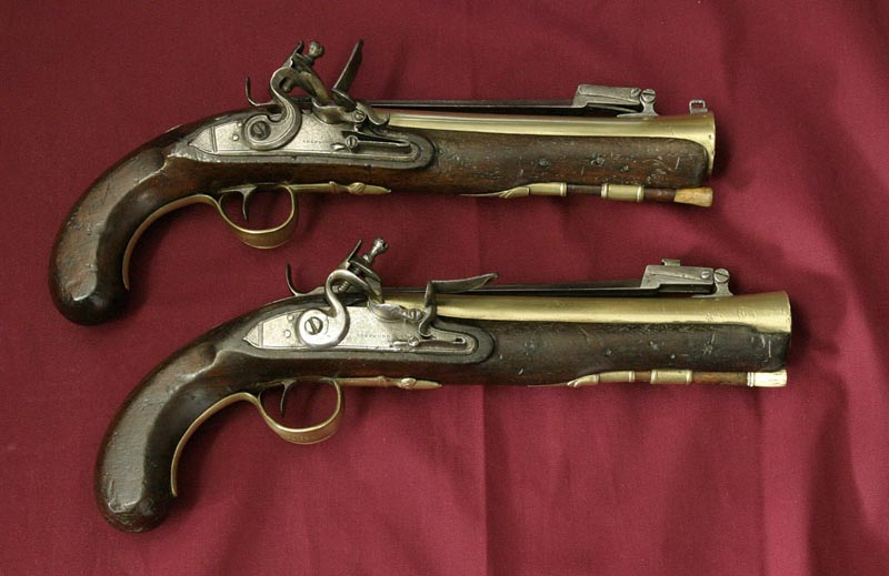 Pirate Flintlock Pistols ~ Pirates of eBay - Pirate ...